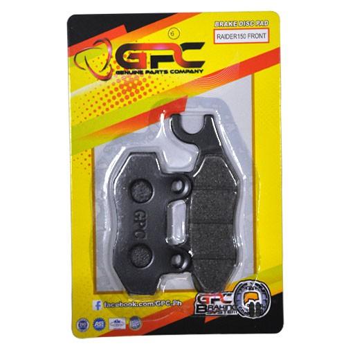 "Suzuki Raider J Pro Spec And Price: RAIDER 150/SHOGUN/SMASH 110/FURY 125 BRAKE DISC PAD ""GPC"