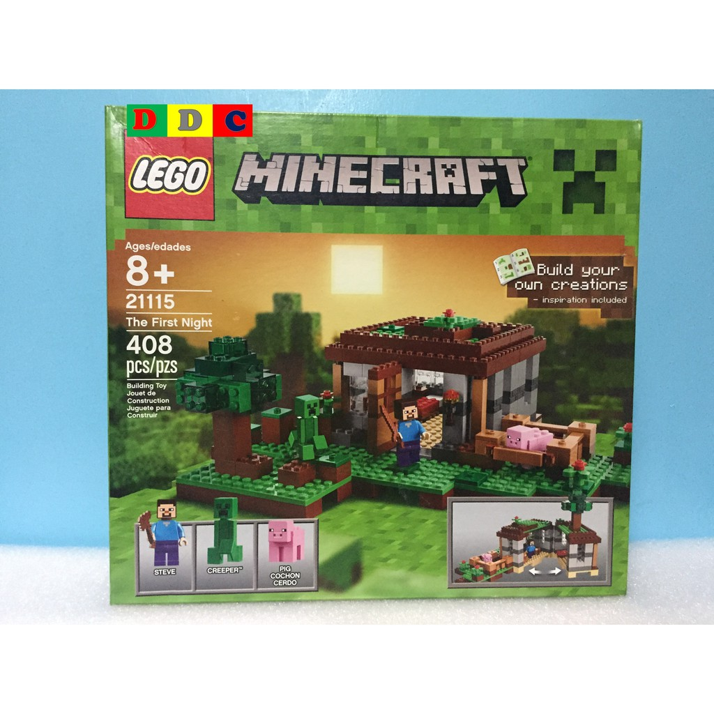 Minecraft The First Lego 21115 Night kXZwOPiuT