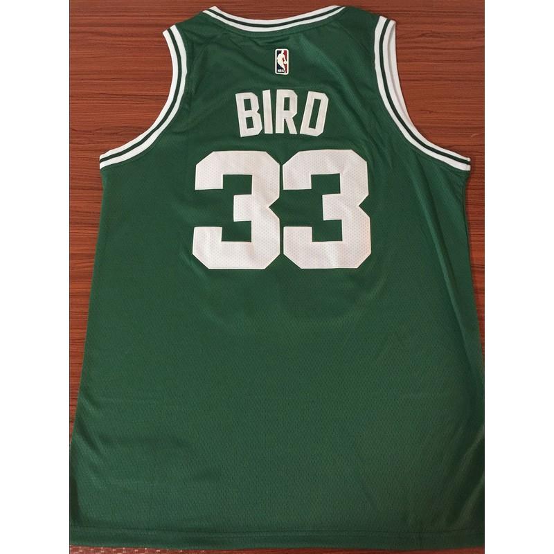 online store 522fd 00c86 yanbo Nike Boston Celtics Larry Bird NBA Jersey #33 green Classic