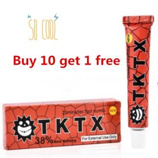 ALL *Buy 10 get 1 free* 4 Types Tattoo TKTX Tattoo Numbing Cream ...
