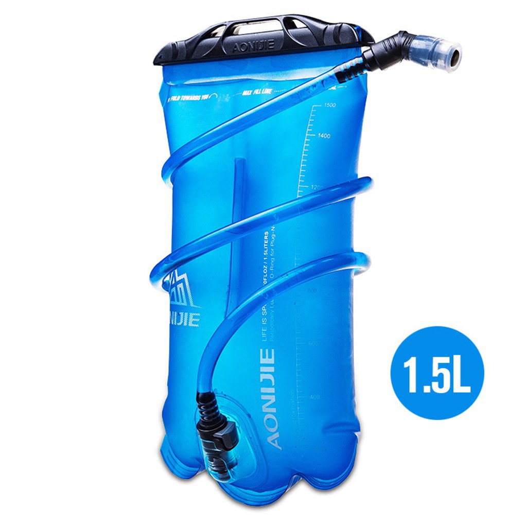 best sell low price cheap sale Outdoor Sport Water Bag Hydration Bladder 1.5L Riding Running ...
