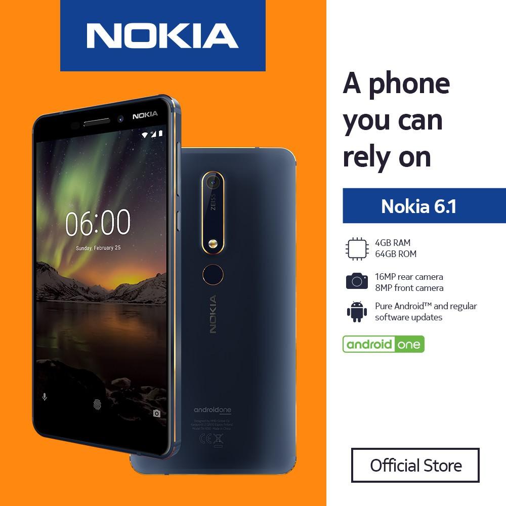 Nokia 6 1 64GB ROM | 4GB RAM