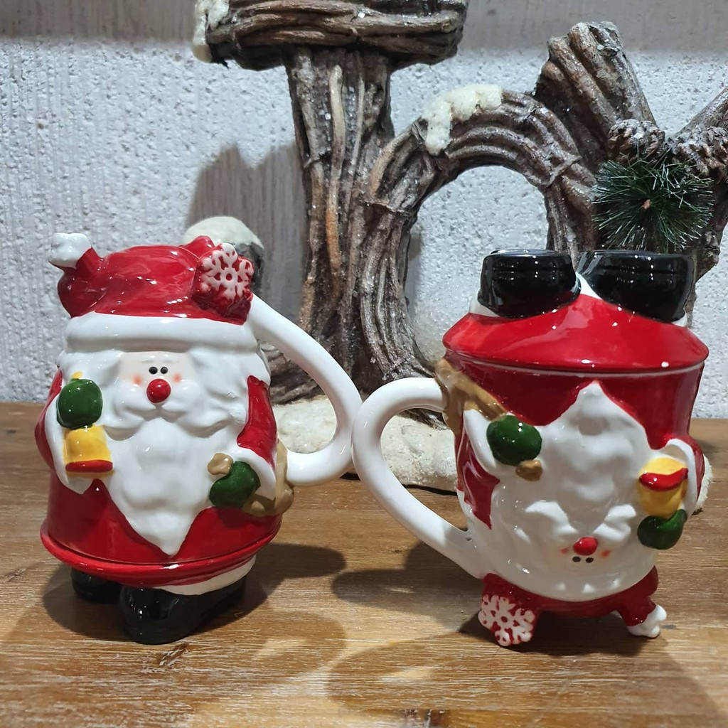 Vintage Design Christmas Mug And Decor Shopee Philippines