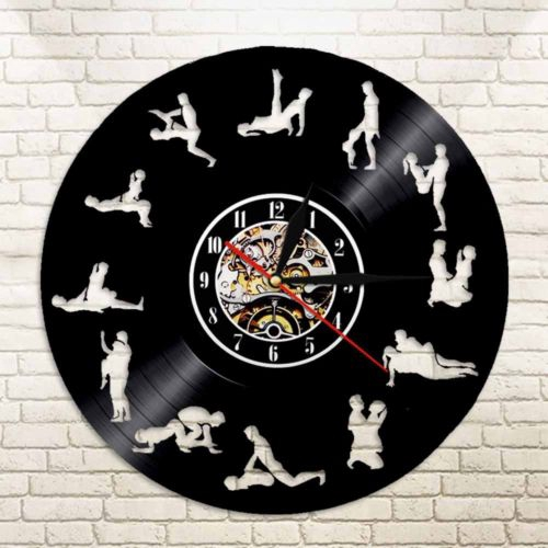 24 Hours Sex Position Vinyl Record Wall Clock Silhouette Led Backlight Modern Vintage Home Decor Bedroom Wall Art Shopee Philippines