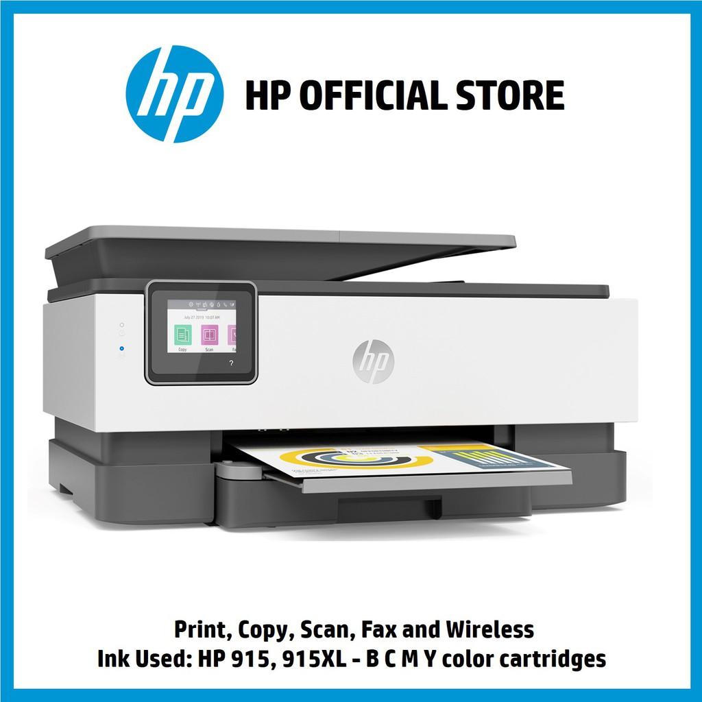 HP Officejet Pro 8020 AiO Printer - Print, Copy, Scan, Fax and Wireless  (Light Basalt)