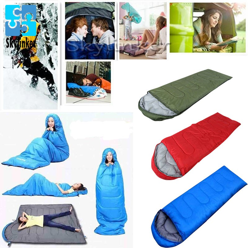 Warm Hooded Winter Sleeping Bags