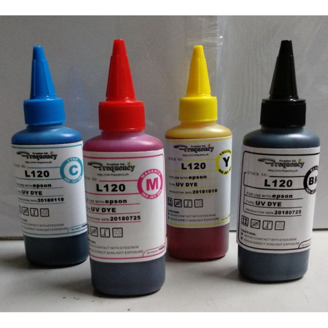 Frequency UV Dye Ink Epson L120 💯 ml