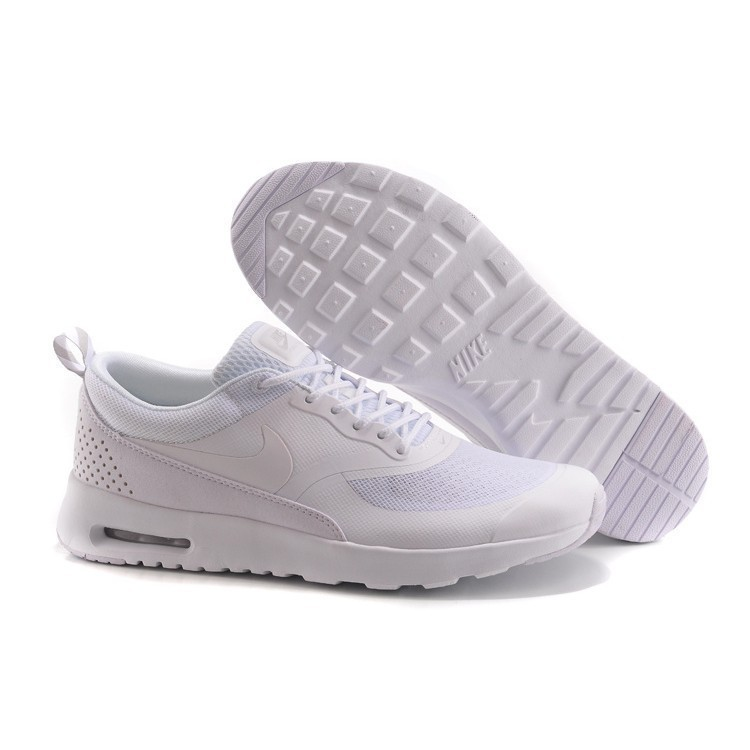 Nike Air Max 87 90 Thea Full White Color Men And Women Size