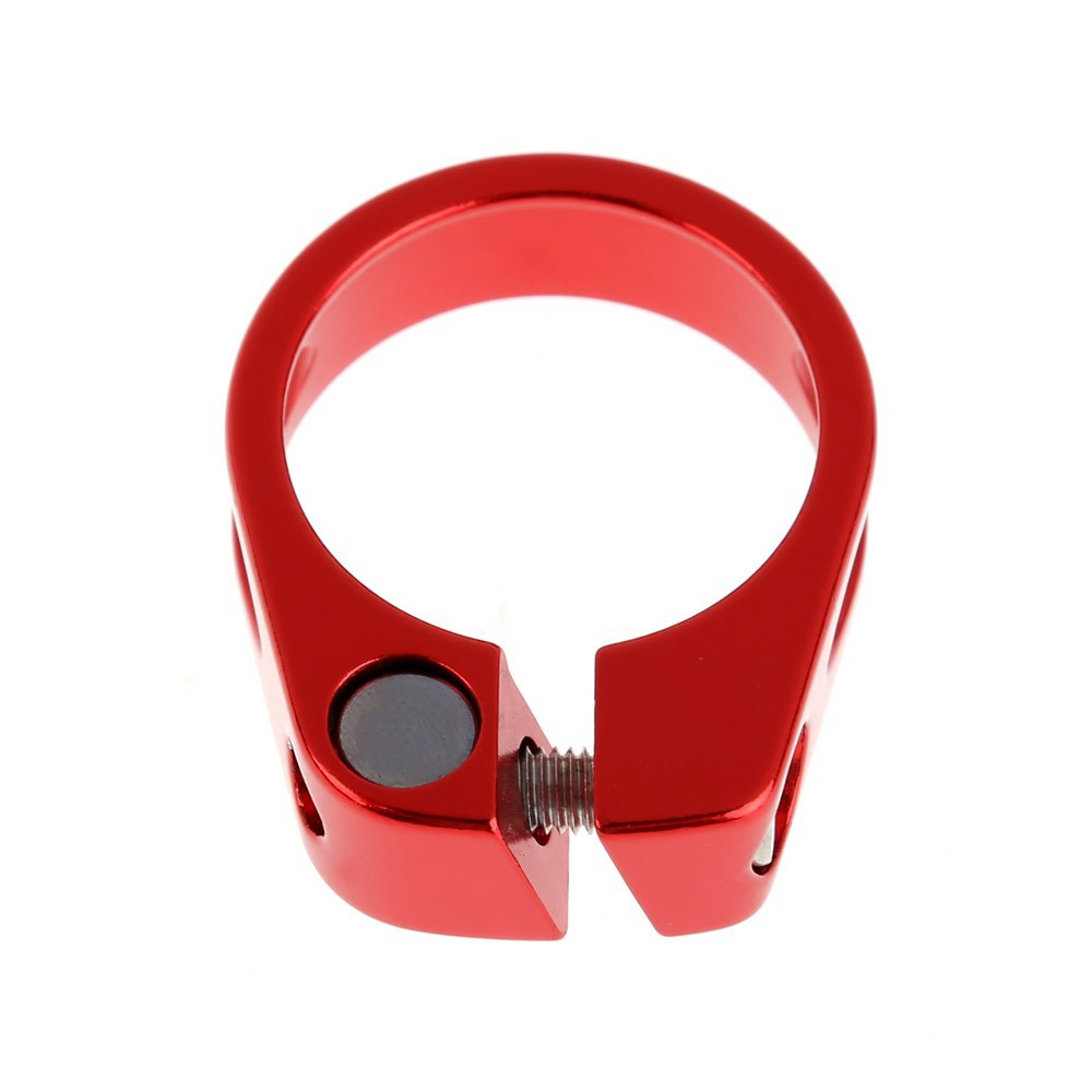 Bike Bicycle Post Seatpost Clamps Clip Quick Release Seat 31.8mm//34.9mm 20g