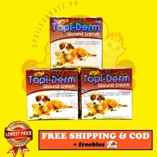 Topi Derm Cream Antiseptic Antibacterial Antifungal Shopee