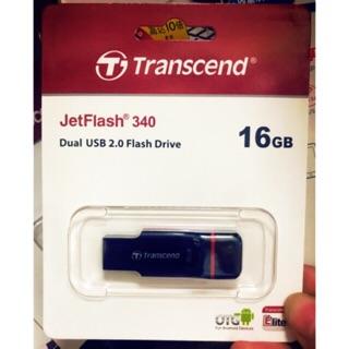 100% Original Transcend OTG 32G Android Dual USB Flash drive