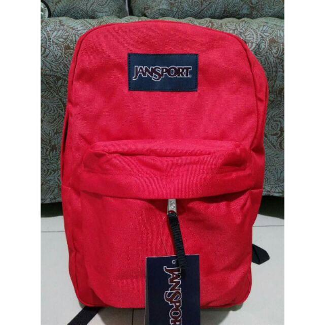 Neon pink jansport authentic backpack  4febd6b9f82b9