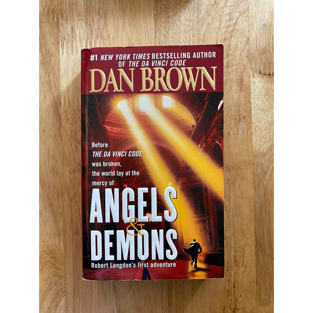 ANGELS AND DEMONS BY DAN BROWN POCKETBOOK   Shopee Philippines