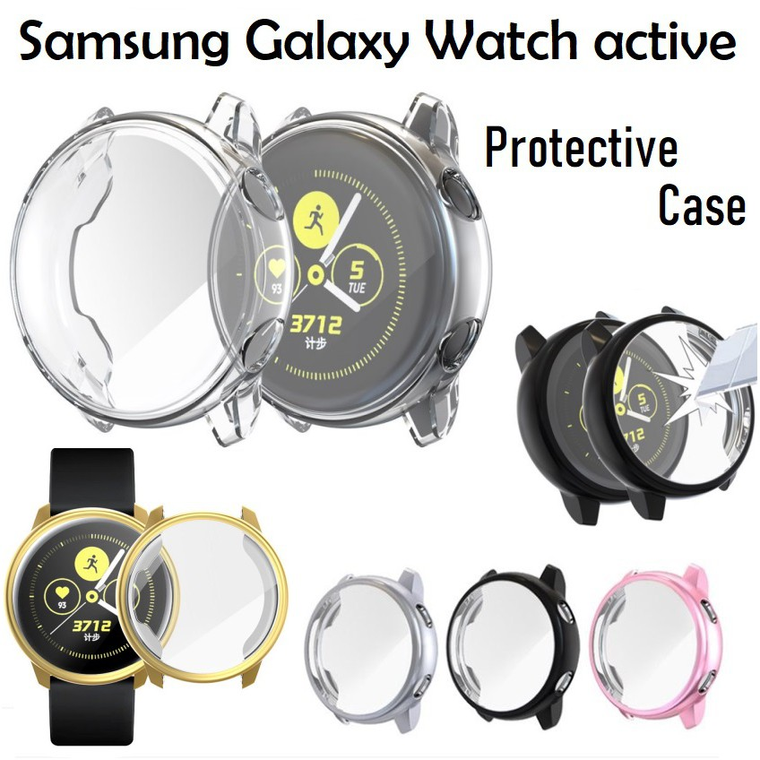 Samsung Galaxy Watch active Silicone Protective Case Cover
