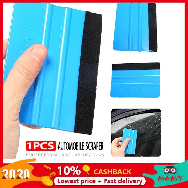 80 PCS Felt Edge Squeegee Car Vinyl Wrap Application Card Decals Sticker Tools