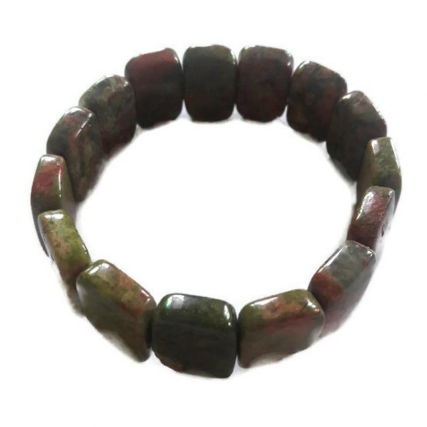 55d891b118866 Cherry Strawberry Quartz MedicineBuddha Mystic Knot Bracelet ...