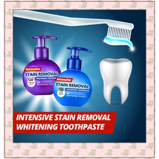 Intensive Stain Removal Whitening Toothpaste Fight Bleeding Gums Toothpaste Shopee Philippines