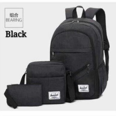 69c2d5f52981 cod Korean style 3 in 1 unisex bag backpack/sling