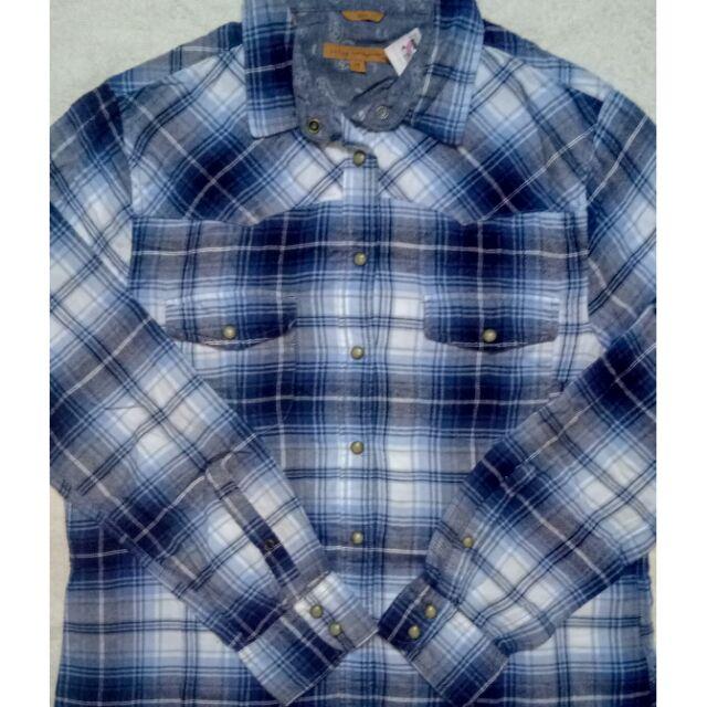 Green//Navy, Sz: Large Jachs Girlfriend Flannel Shirt NEW!!