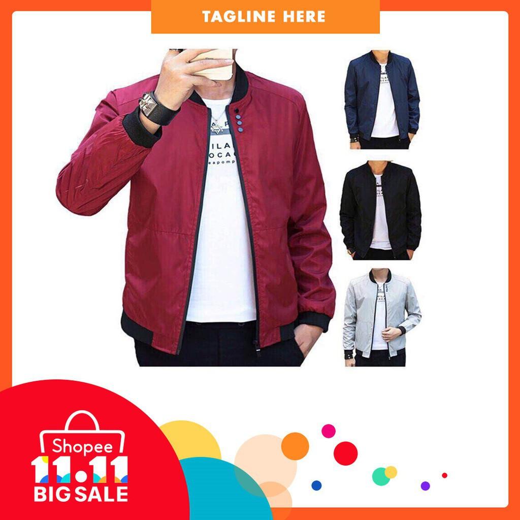 e5eb396e283 ZOEQO New Winter Wool Coat Slim Fit Jackets Mens Casual Warm ...