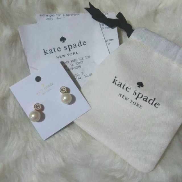 88adb9823746 ProductImage. ProductImage. Sold Out. Authentic Kate Spade Pearly Delight  earrings