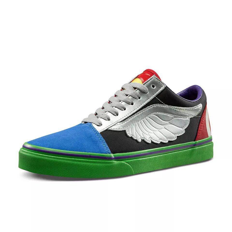captain america vans shoes
