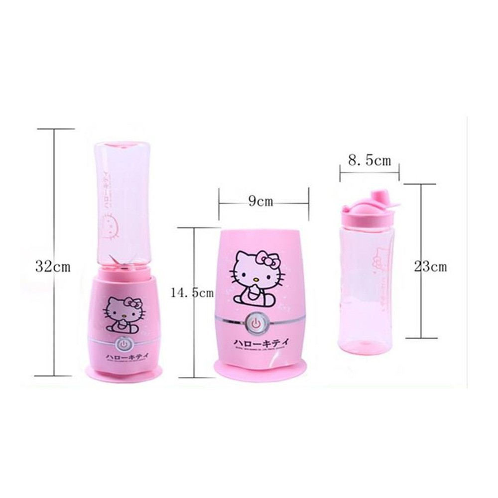 Shake And Take Hello Kitty Juice Blender Shopee Philippines N 3 2 Cup