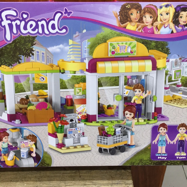 Friends Lego Big