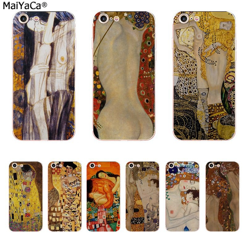 klimt coque iphone 5