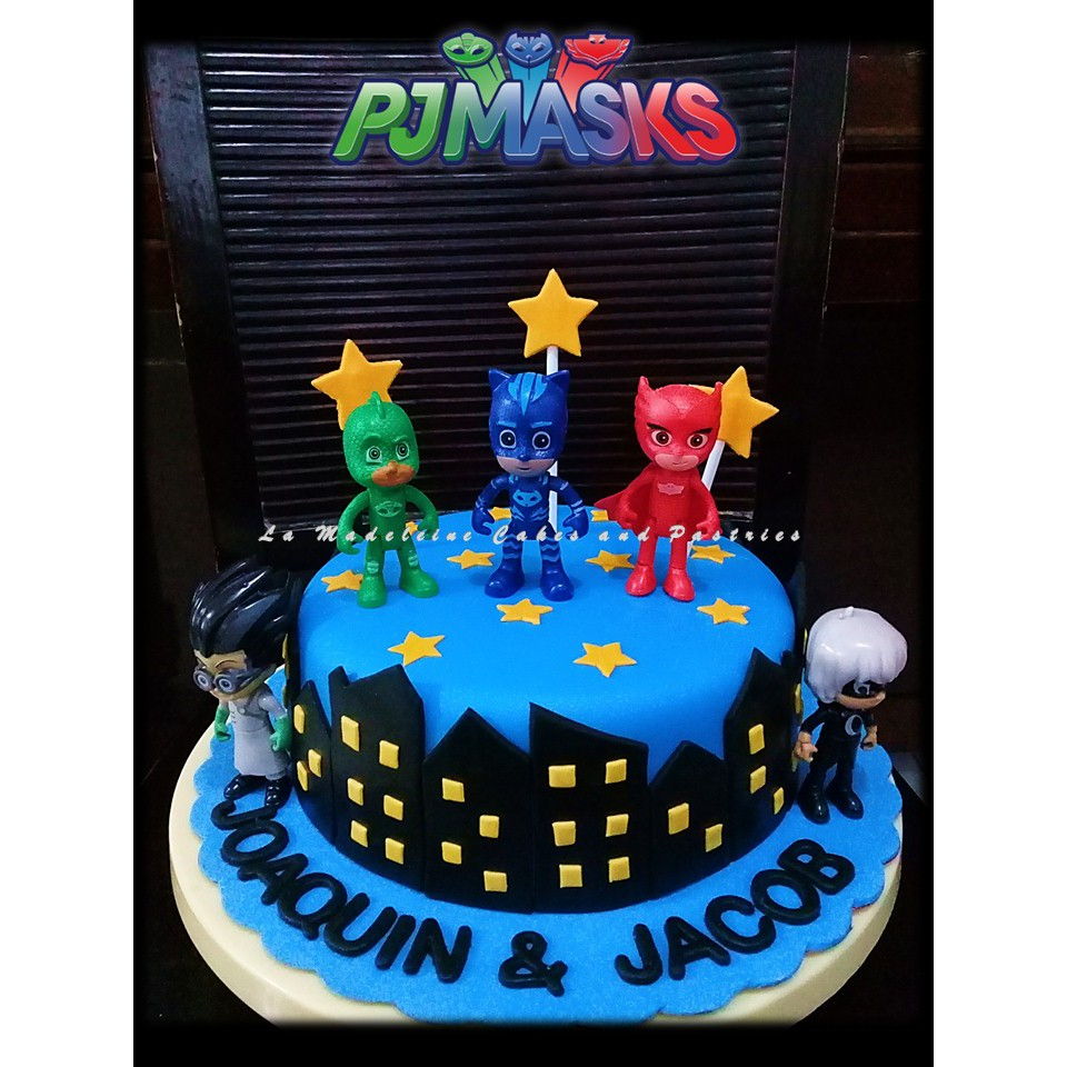 Pj Mask Cake And Cupcakes Shopee Philippines