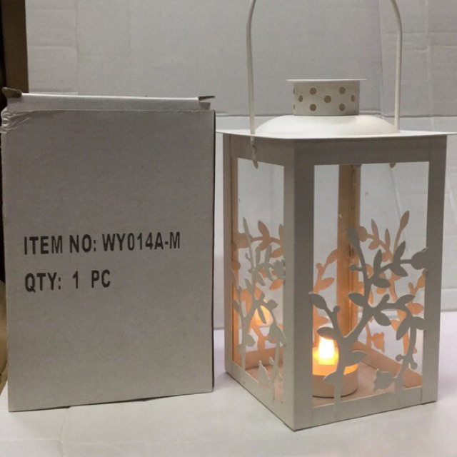 Lantern lamp candle holder (Wy014a-m)