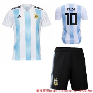 e5dcce89e 2018 World Cup Argentina National Team NO.10 Messi Home kit away kit  Football Jersey Football shirts