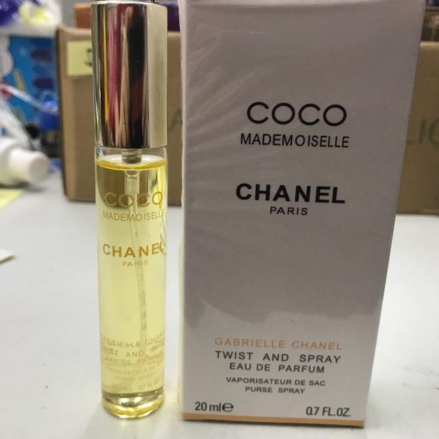 Coco Mademoiselle Chanel Paris Gabrielle Chanel Perfume 20ml