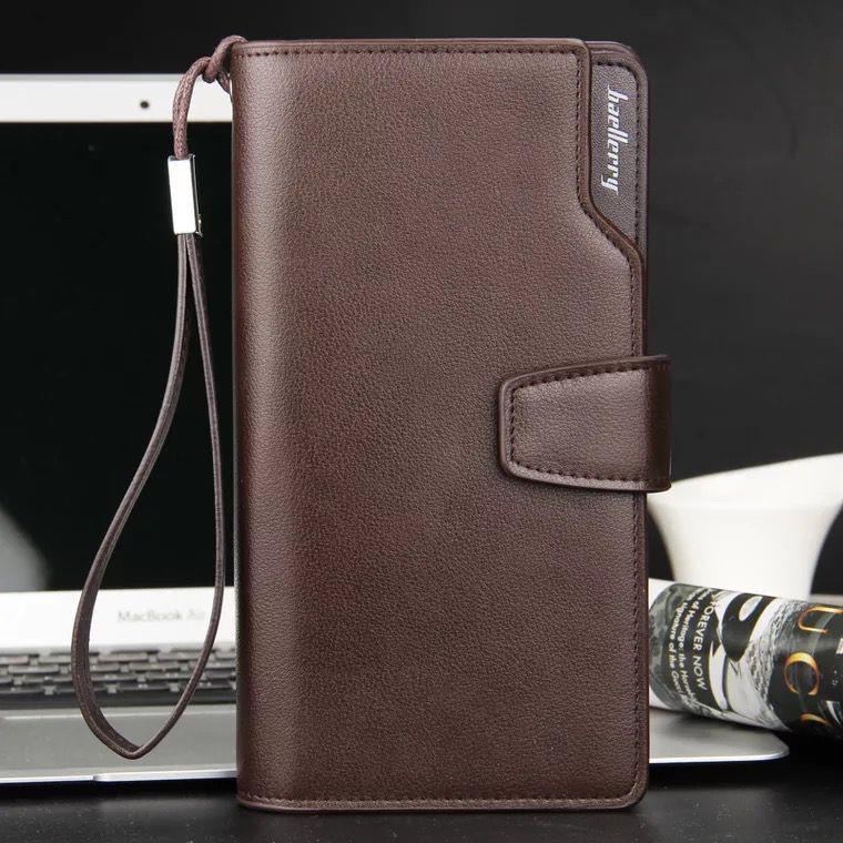 60300d1b0f2e Men Senior business 100% Leather Card Holder Wallet