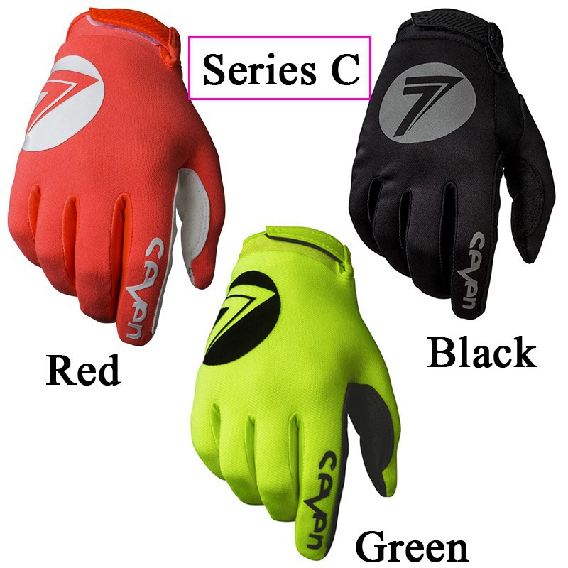 Durable MTB Cycling Bicycle Bike Motorcycle Sport Breathable Full Finger Gloves