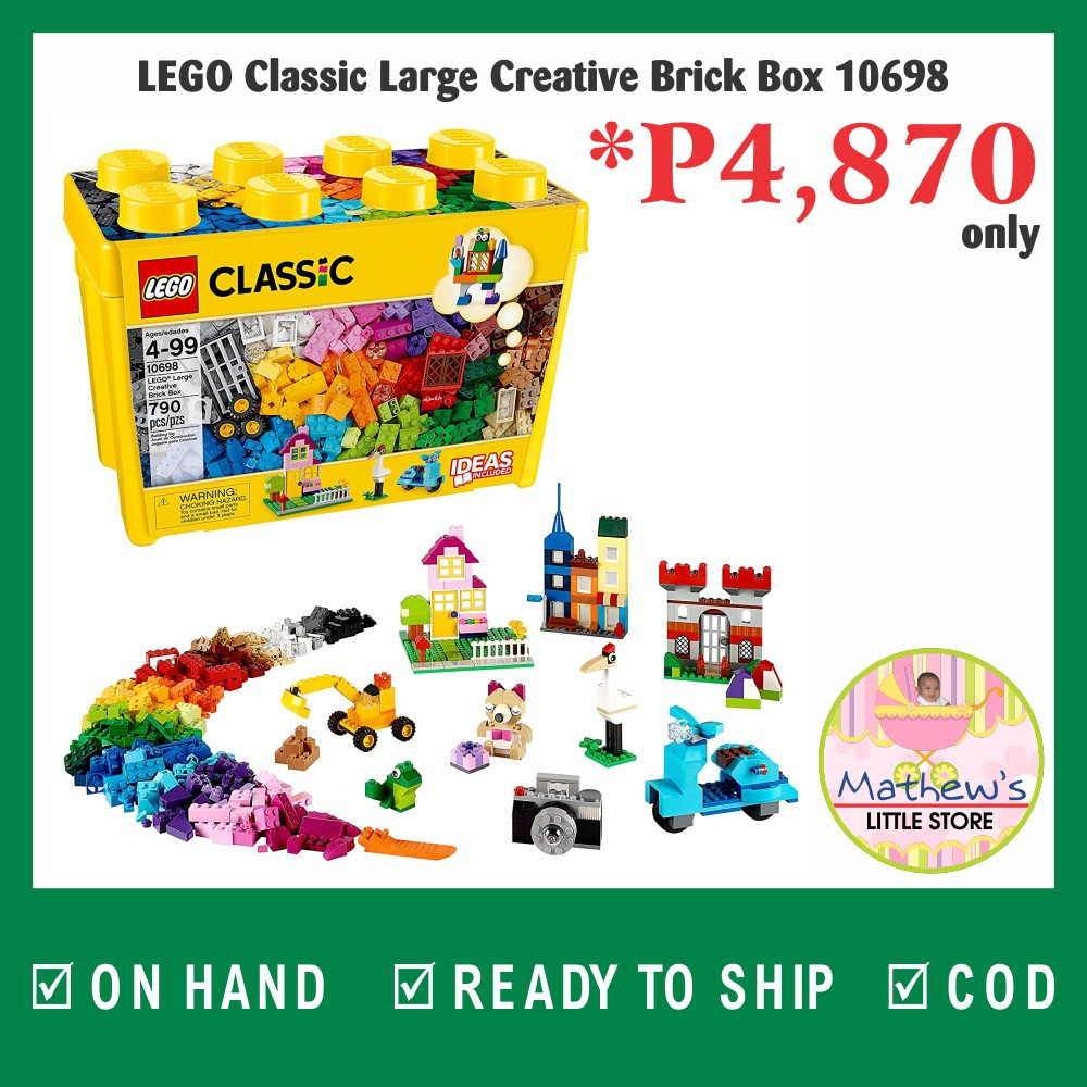 d0aa22a88781 2018 Lego Classic Creative Suitcase 10713   Shopee Philippines