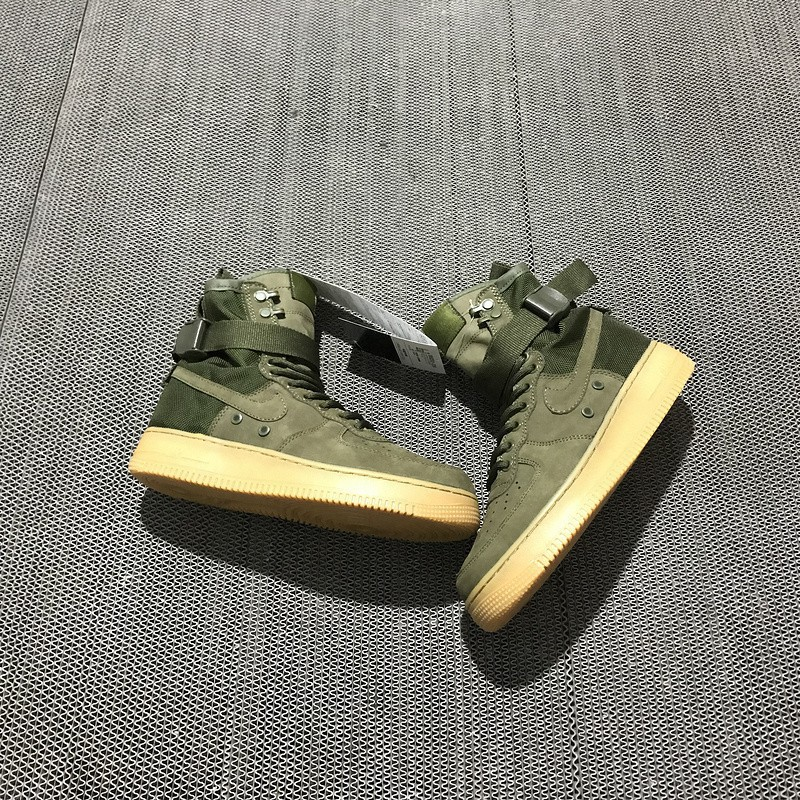 Nike Special Field Air Force 1 High Street Performance Special Forces Boots Grey