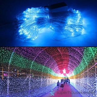Christmas Led Lights.Christmas Led String Fairy Lights Net Mesh Curtain Xmas Wedd