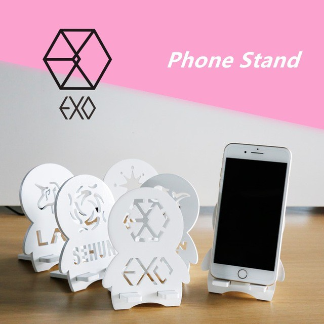 Jewelry Findings & Components Official Website Kpop Exo Cute Ipad Tablet Bracket Baekhyun Acrylic Protable Phone Stand Holder Table Desk Decoration The Latest Fashion