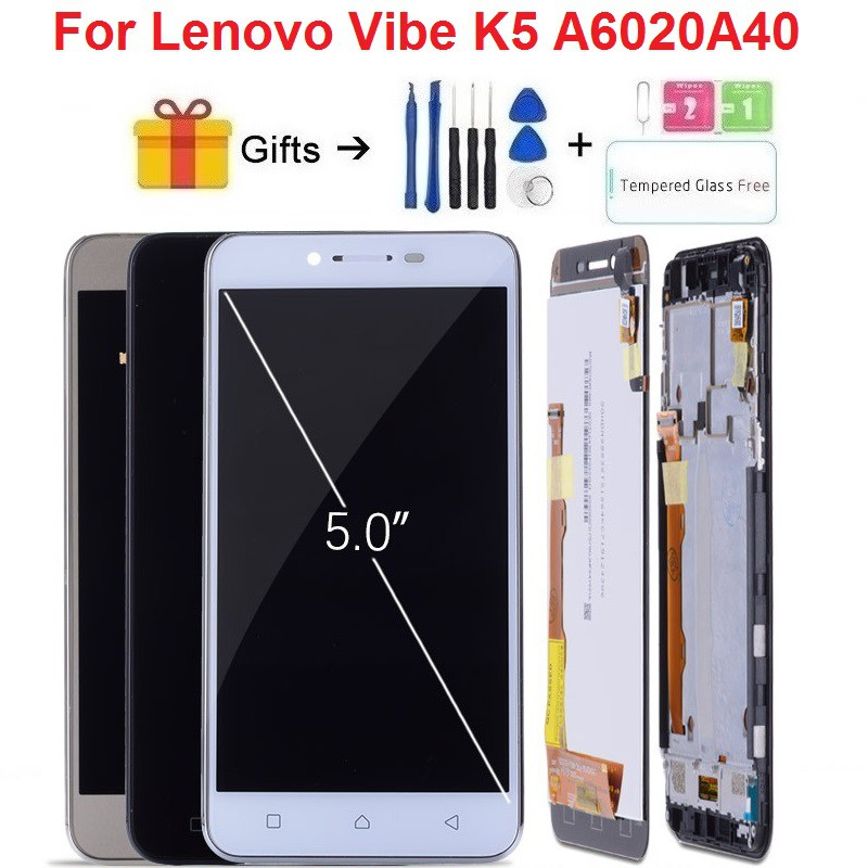 For Lenovo K5 A6020A40 LCD Display Touch Screen Digitizer