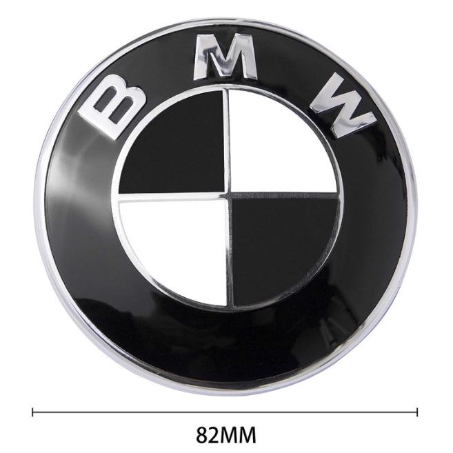 Logo Emblem Replacement Bmw Hood Trunk 82mm Black All Models E30 E36 E34 More Shopee Philippines