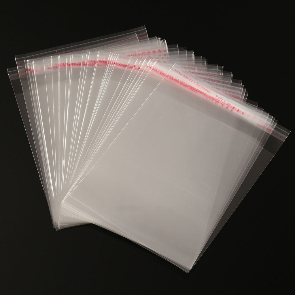 Cello Size 89 x 127 mm Cellophane Bags Peel /& Seal