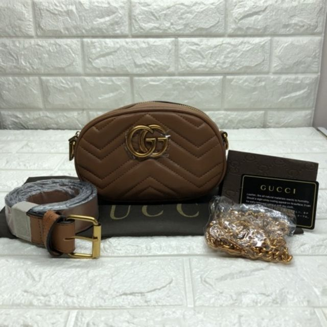 bacb3d6ef90 J7 shop  Gucci belt bag (8 16 inch) COD