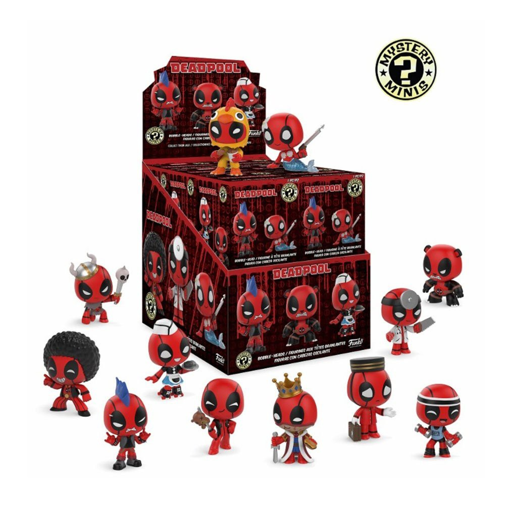 Funko Mystery Minis - Deadpool (sealed blind boxes)