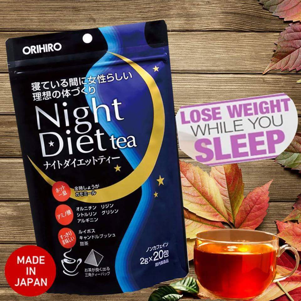Orihiro Night Diet Tea Shopee Philippines