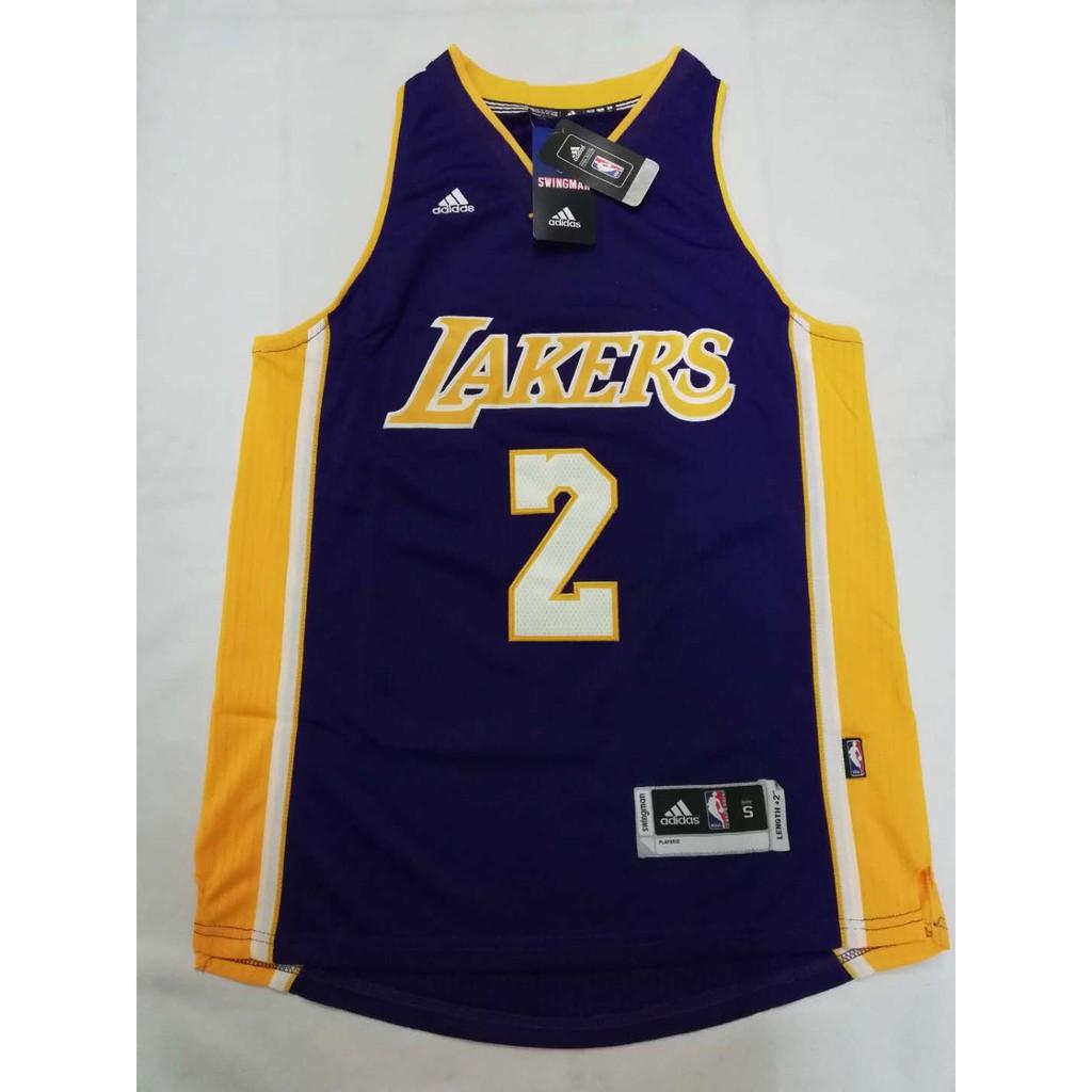 b18ab821a3b Lonzo Ball  2 Los Angeles Lakers Black Mamba Swingman Jersey ...