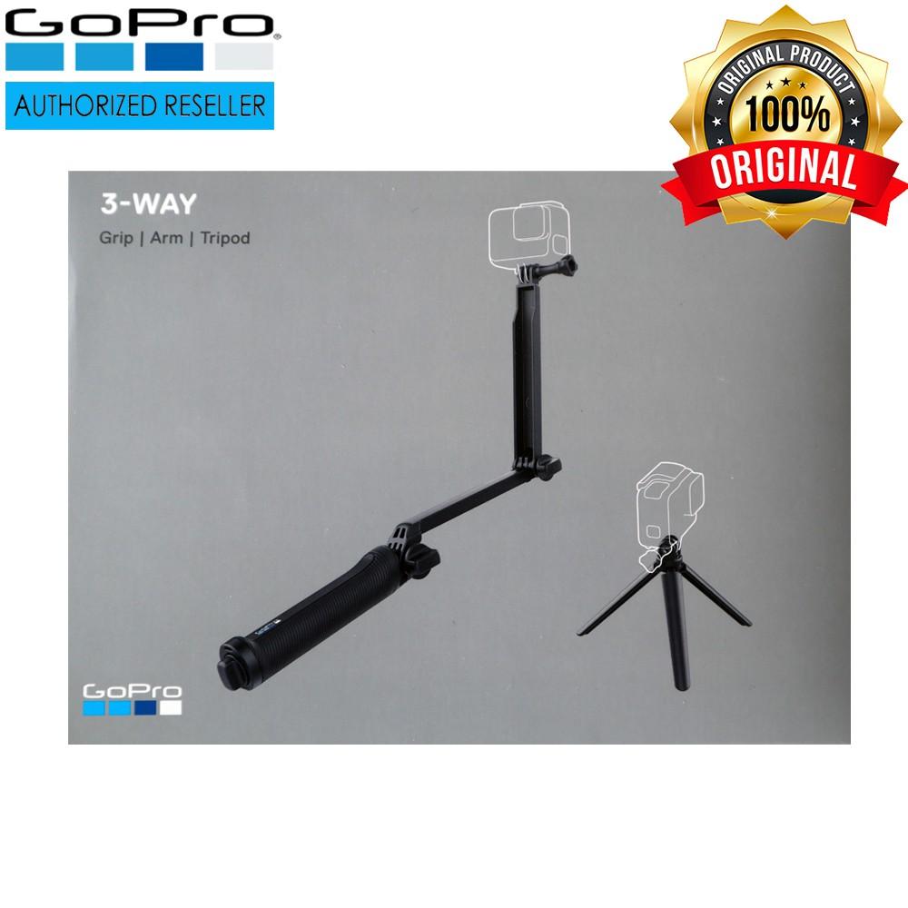 GoPro 3-Way Monopod Grip Arm + Tripod