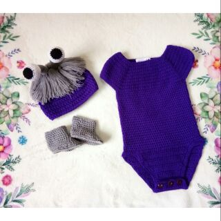 Boo From Monster Inc Crochet Costume Shopee Philippines