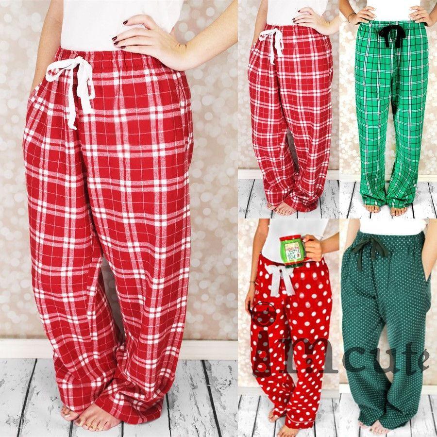 Christmas Pajama Pants.Imcute 2018 Family Matching Christmas Pajamas Pants Womens