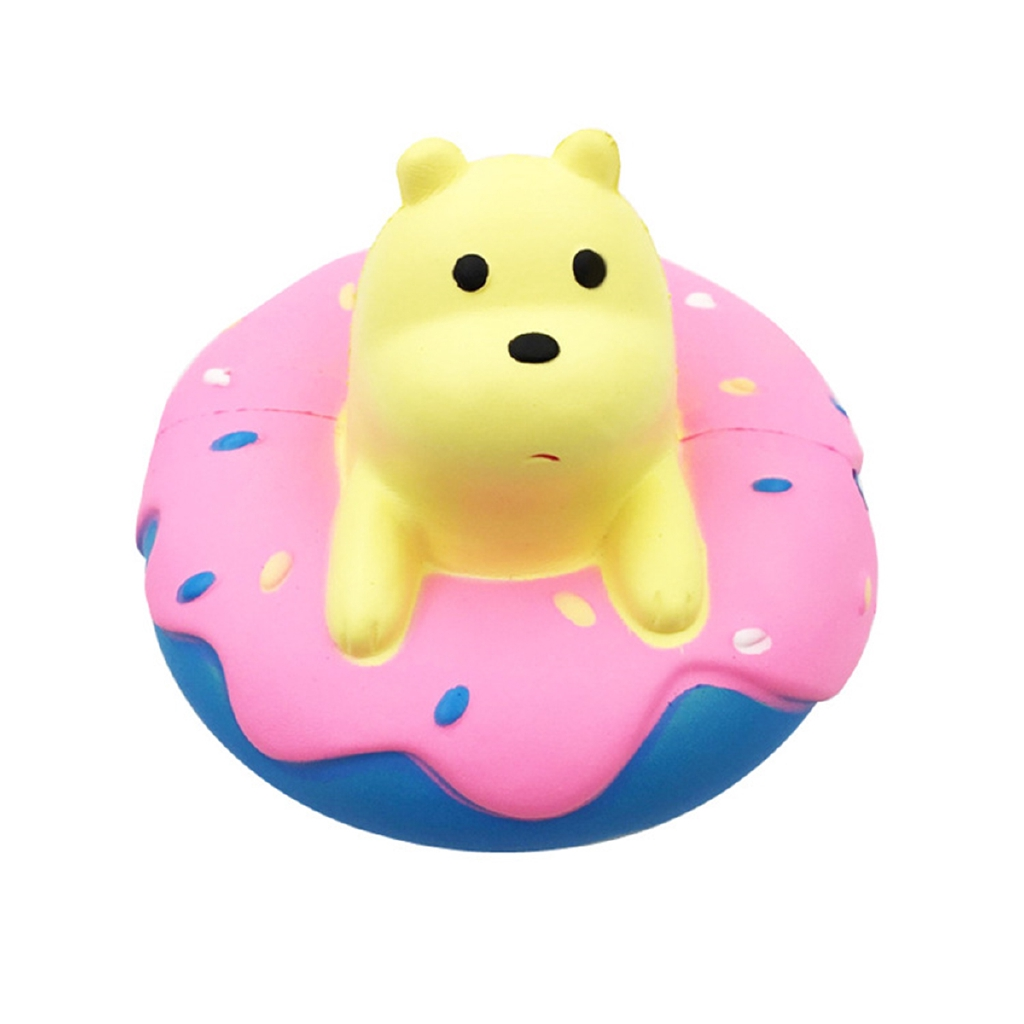 Cute Bear Squeeze Squishy Cute Bear Slow Rising Cream Scented Decompression Toys